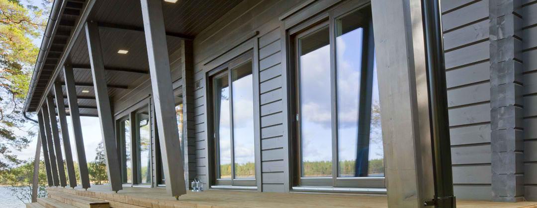 House With Windows & Sliding Doors